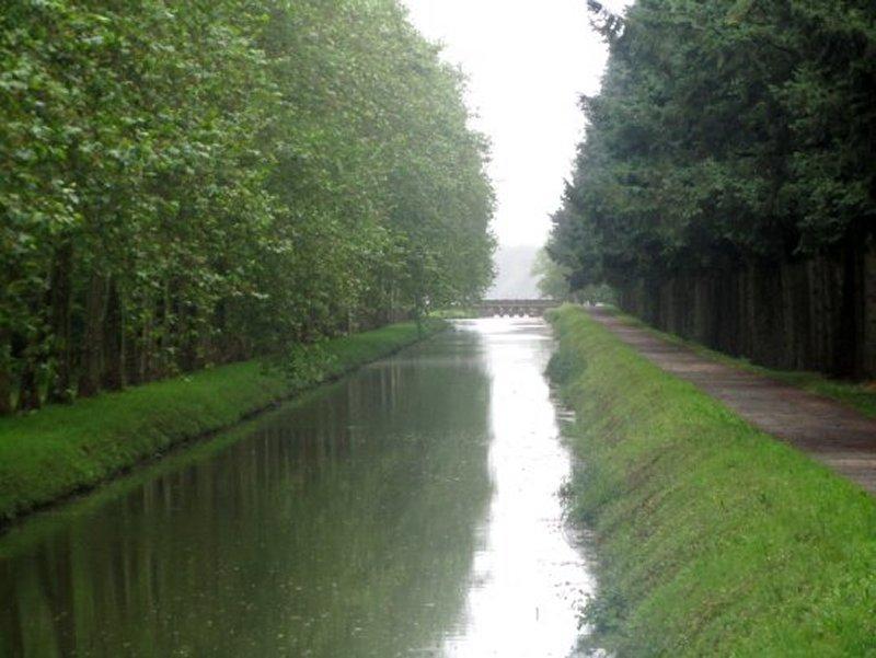 Le Canal de la Sauldre vers l'Etang du Puits
