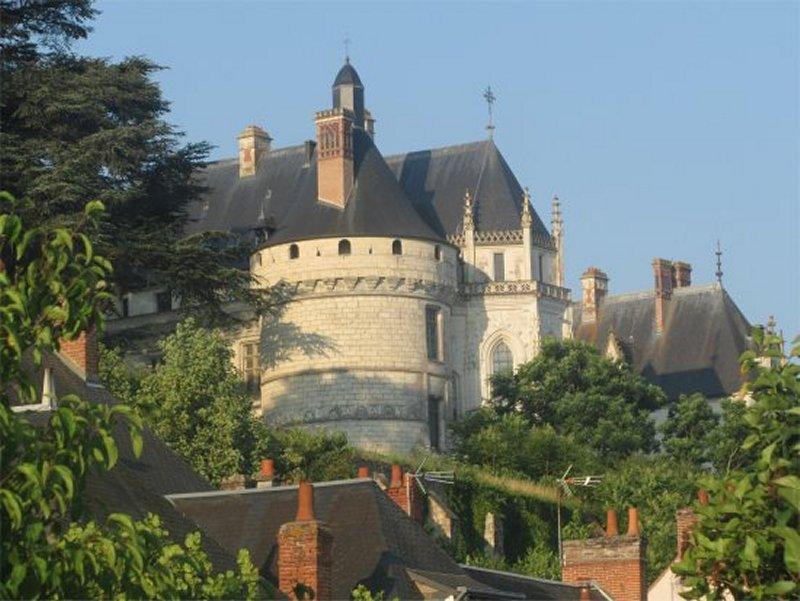 le Château de Chaumont Sur Loire Vu du Bord de La Loire