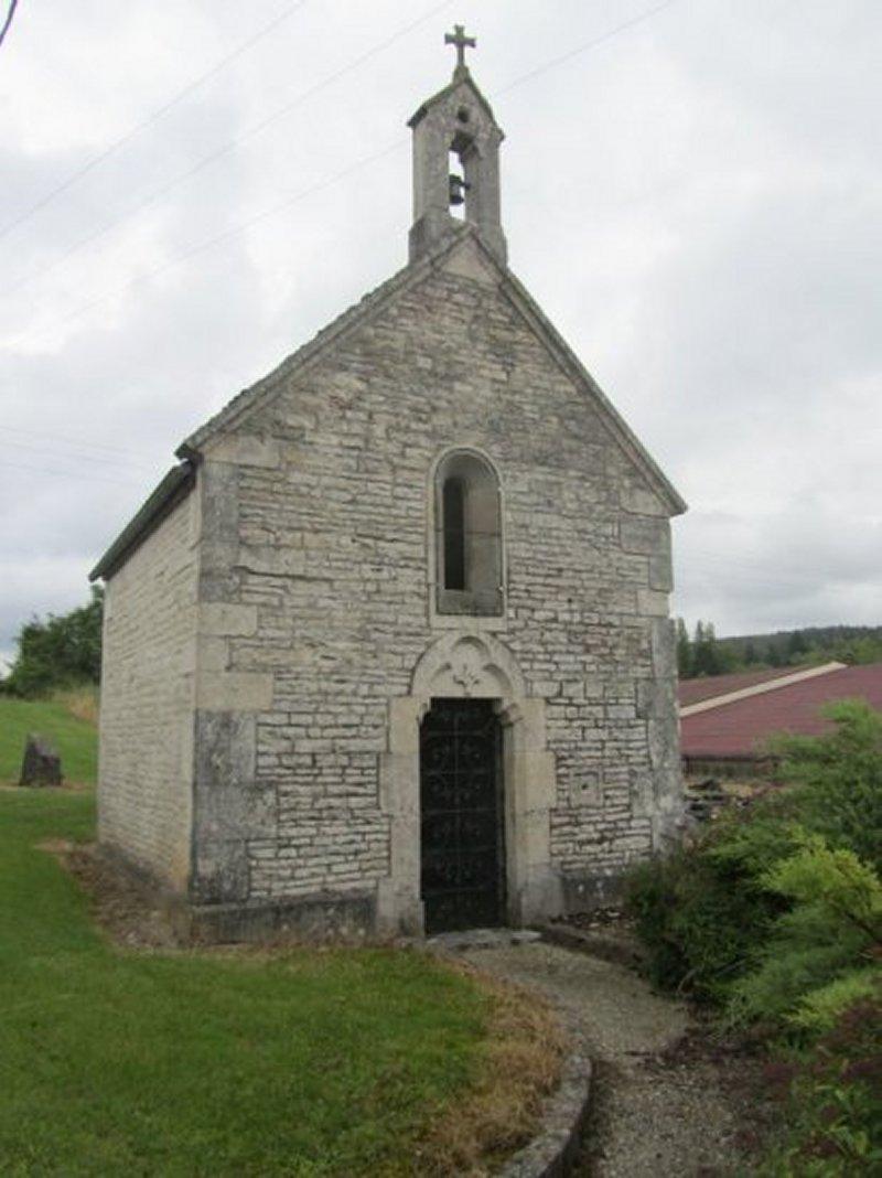 La Chapelle Sainte Elisabeth au Dessus de Mussy sur Seine