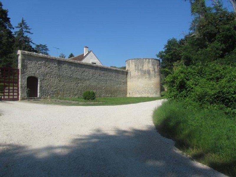 L'Entrée du Château de Conon