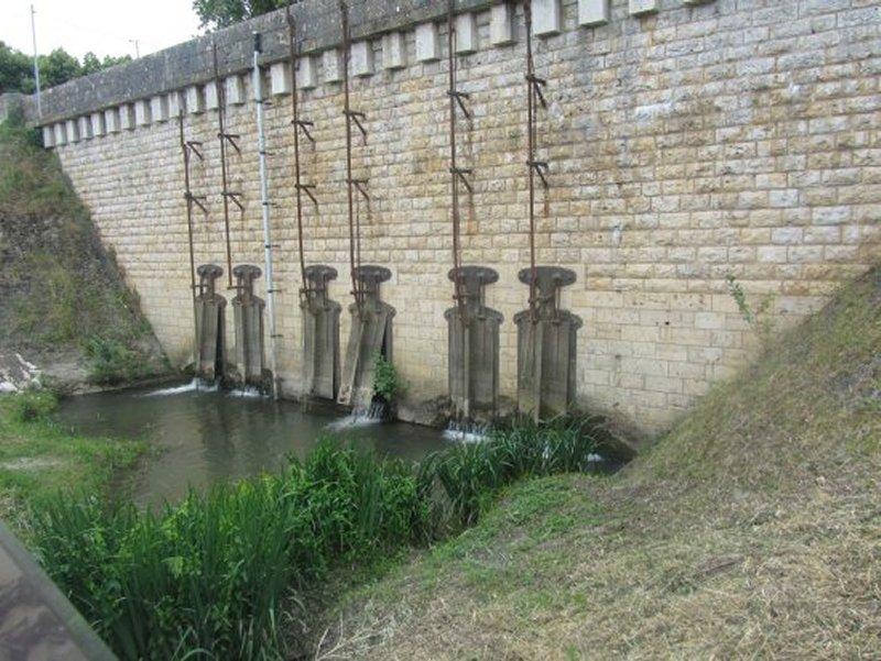Le Vannage du Déboucher de l'Amasse en Loire