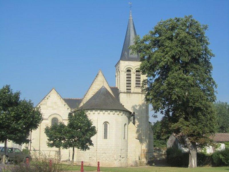 L'Eglise de Saint Martin de Sanzay