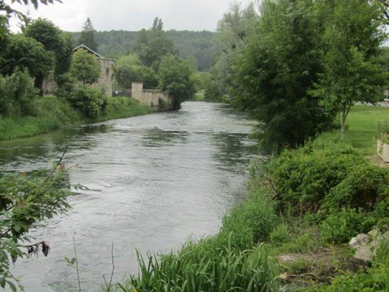 La Seine à Mussy sur Seine