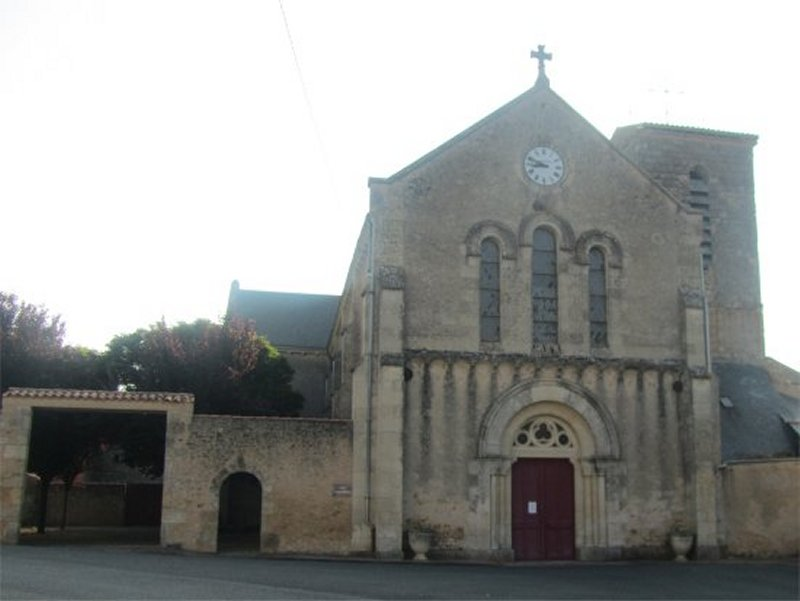 L'Eglise de Louin