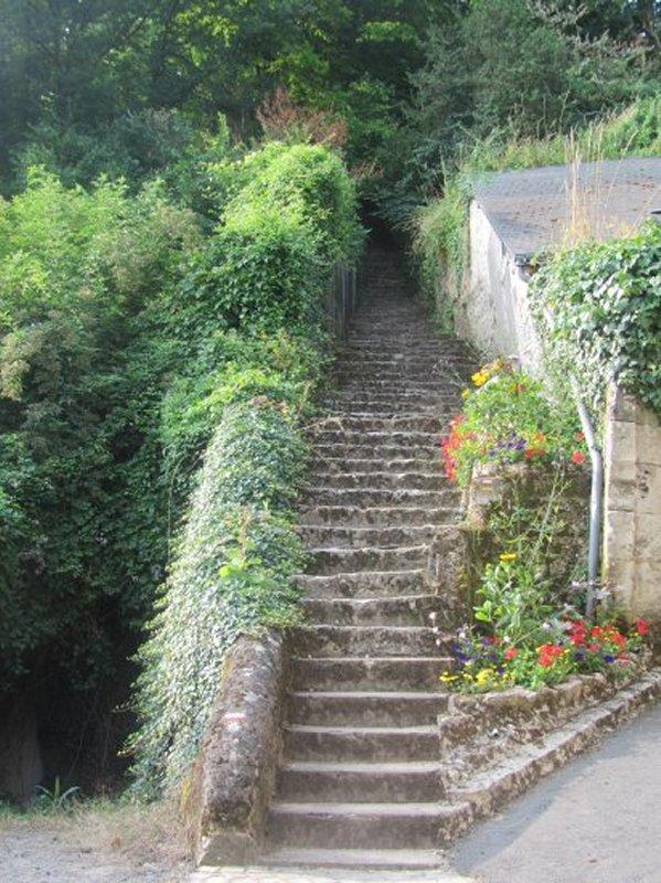 Escalier Pour Quitter Savonnières