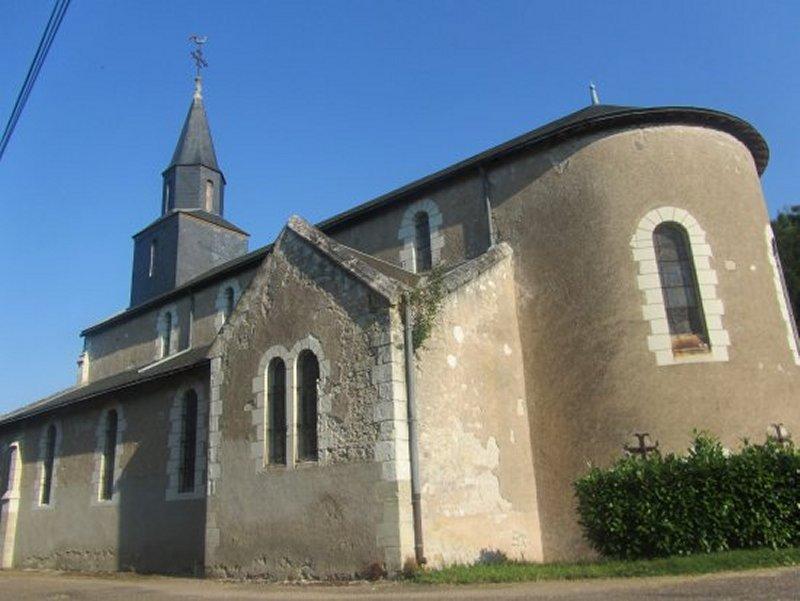 L'Eglise de Rilly Sur Loire