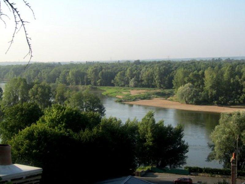 la Loire au Dessus de Rochecorbon