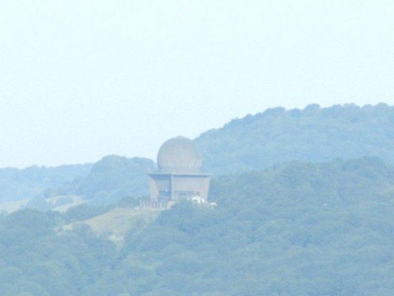 Dôme du Radar de la BA 902 Contrexeville