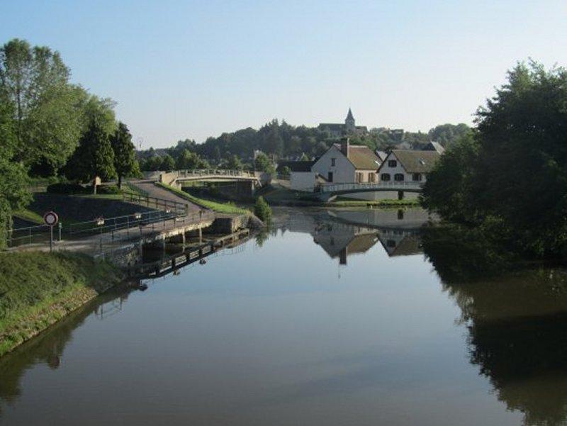 Le Loing et le Canal de Briare à Rogny les Sept Ecluses