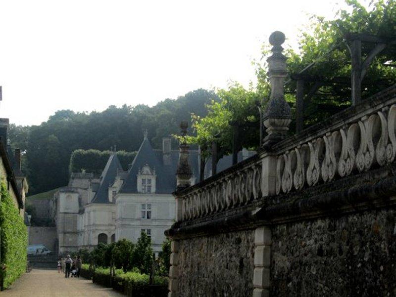 L'Entrée du Château de Villandry