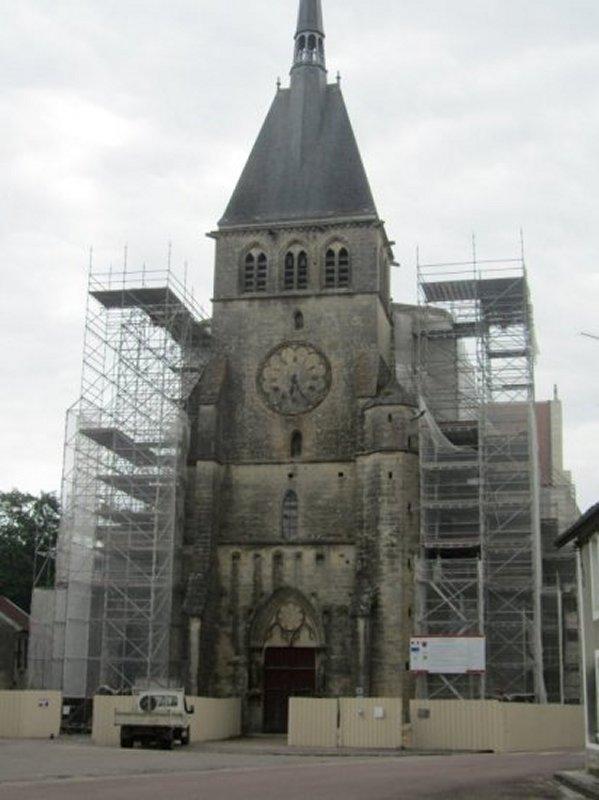 La Collégiale Saint Pierre-ès-Liens de Mussy sur Seine
