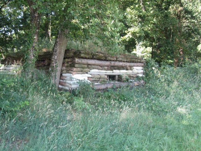 Casemate au Camp de Fontevrault