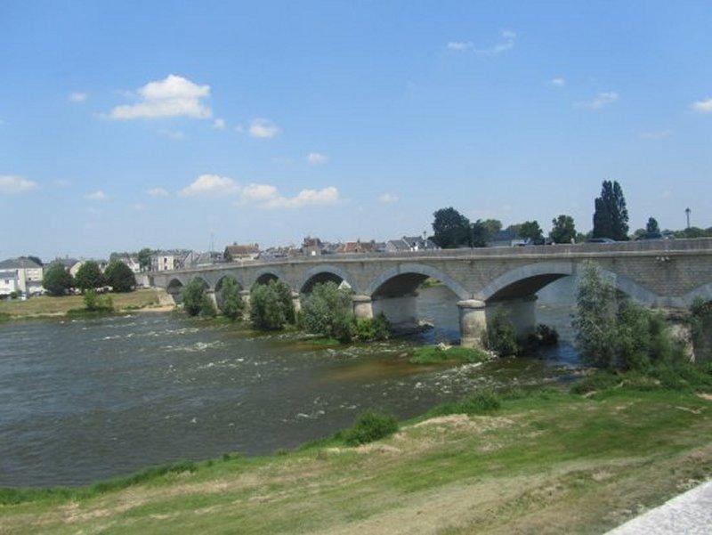 Pont sur La Loire à Amboise