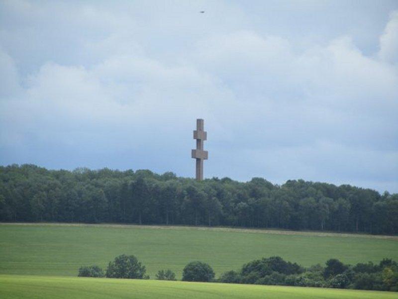 La Croix de Lorraine de Colombey les Deux Eglises