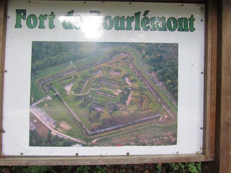 Vue Aérienne du Fort de Bourlémont