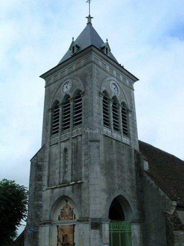 L'Eglise de Saint Aubin Château Neuf