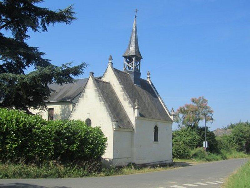 La Chapelle Notre Dame de Pitié à Fontevrault