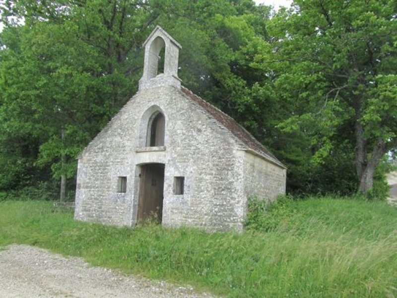 La Chapelle Saint Jacques qui Domine Les Riceys