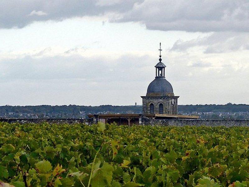 Le Clocher de l'Eglise de Vouvray