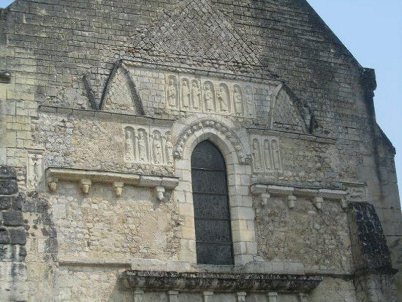 Dérail de l'Eglise d'Azay Le Rideau