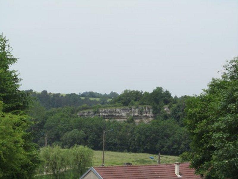 Falaises à Circourt sur Mouzon