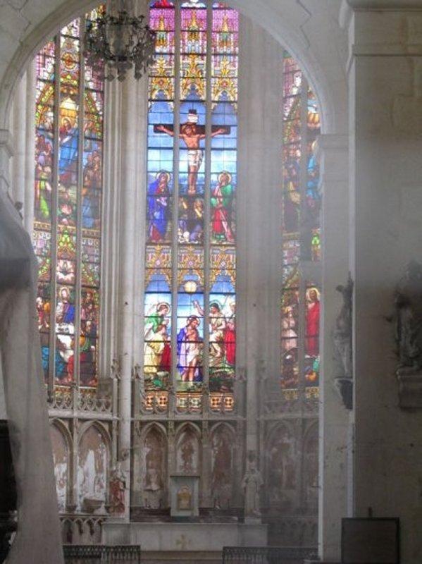 Vitrail de l'Eglise Saint Jean-Baptiste