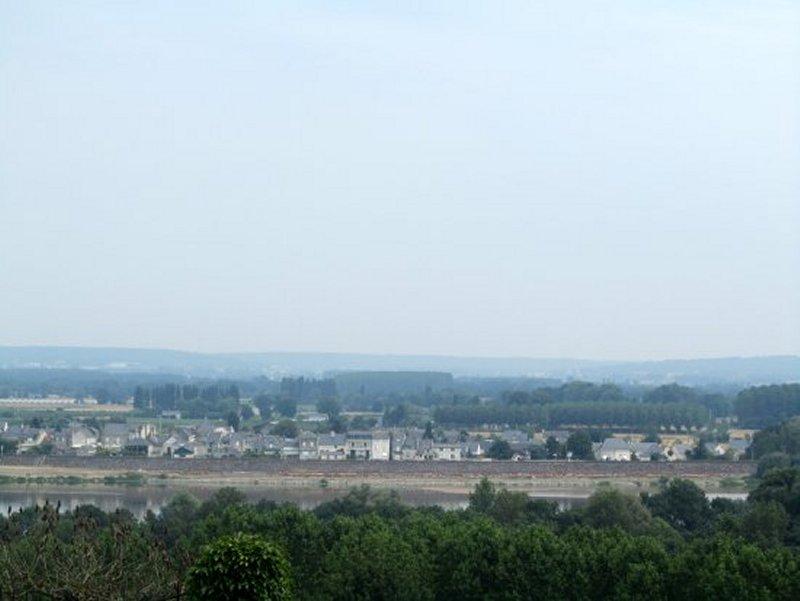 Vue sur la Rive Droite de la Loire
