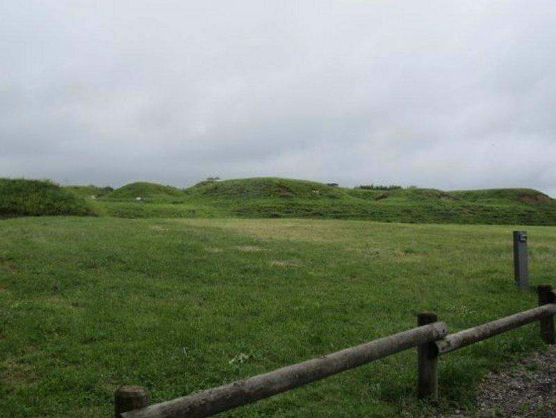 Le Dessus du Fort de Bourlémont