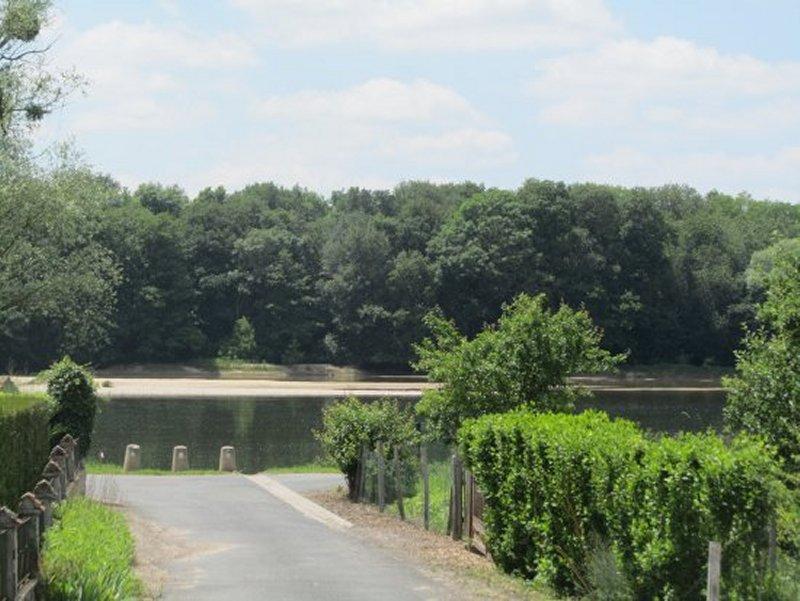 L'Arrivée du Sentier sur la Loire