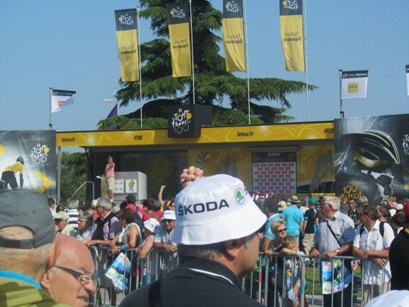 Le Podium de Départ du Tour de France