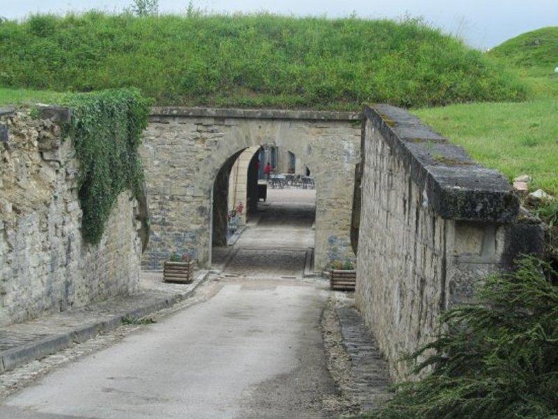 L'Entrée du Fort de Bourlémont