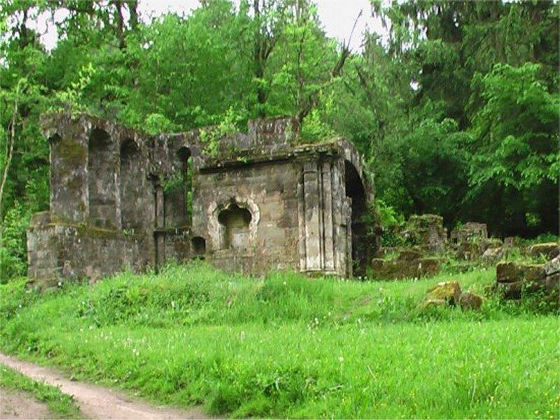 Les Ruines du Prieuré de Bonneval