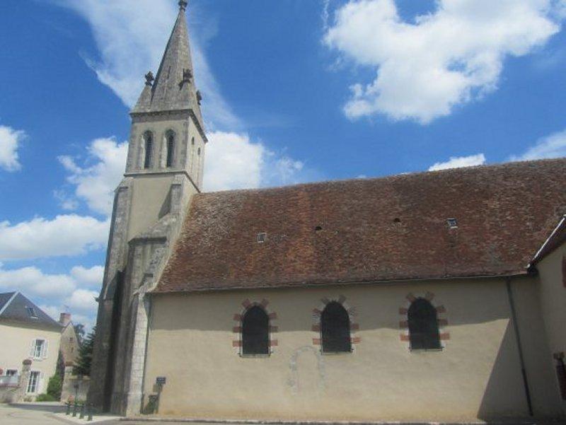 L'Eglise de Saint Brisson sur Loire