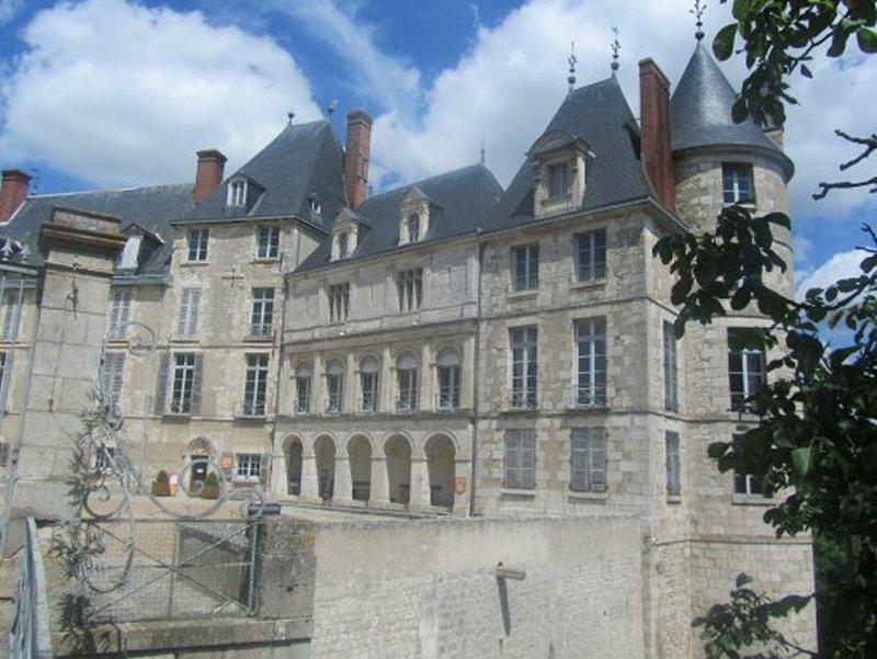 Le Château de Saint Brisson sur Loire