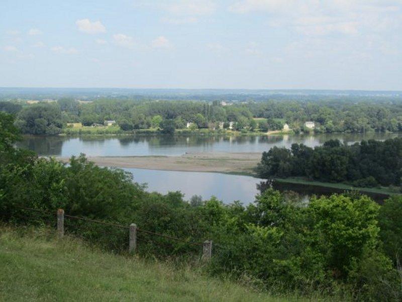 La Confluence de la Vienne et de la Loire à Candes Saint Martin