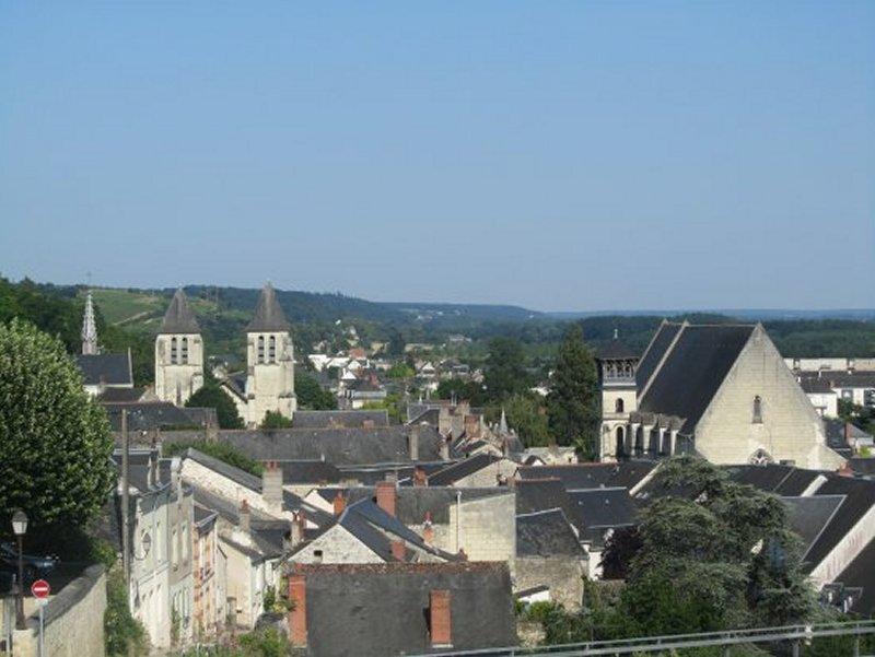 L'Eglise Saint Etienne de Chinon