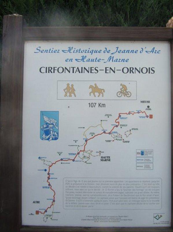 Le Sentier Historique de Jeanne d'Arc
