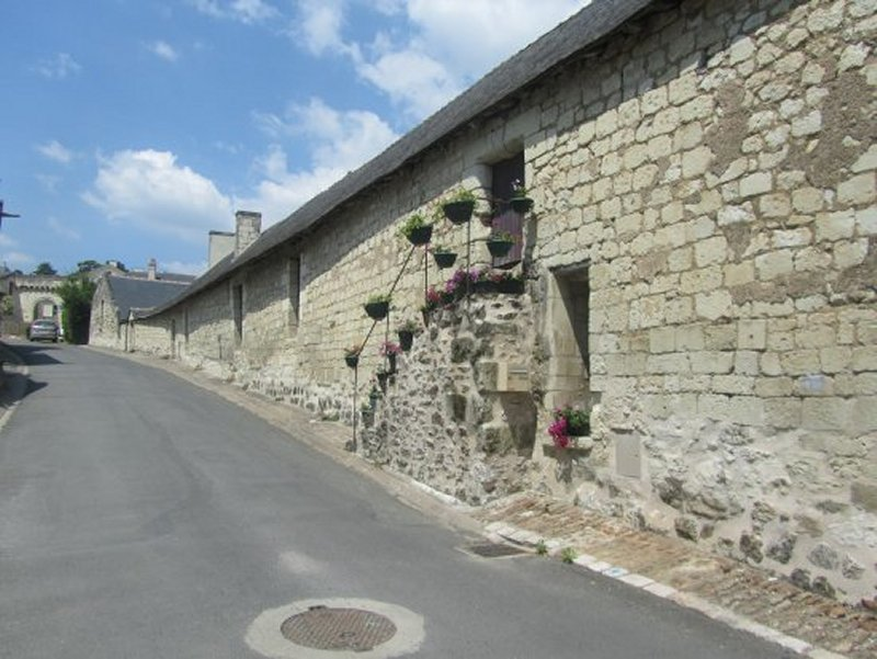 Rue à Candes Saint Martin