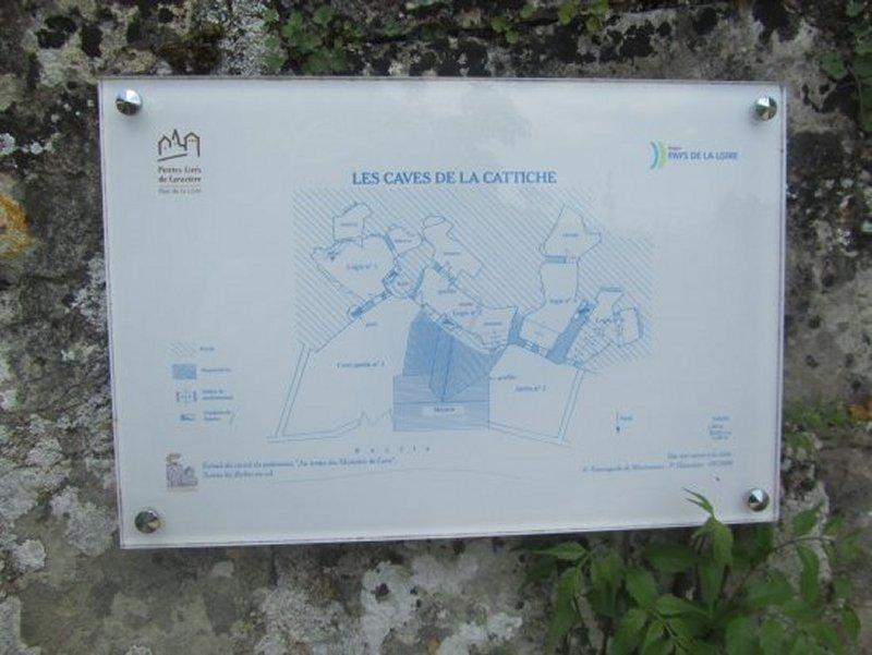 Le Plan de l'Hôtel Troglodyte