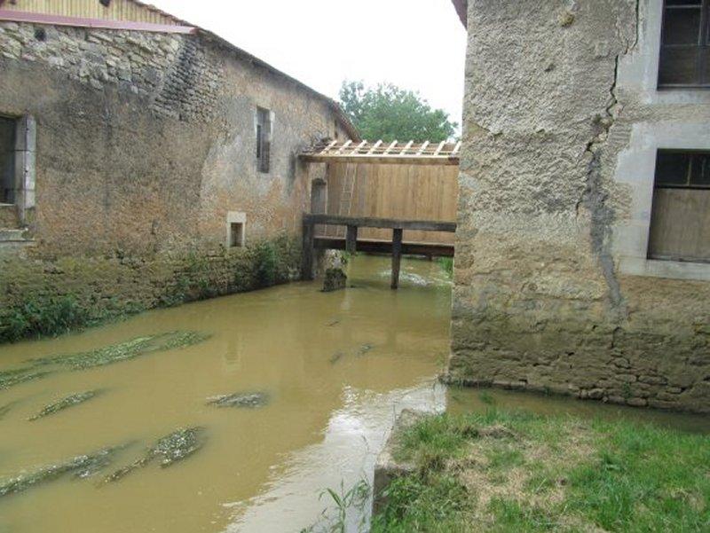 Le Canal d'Alimentation du Moulin de Domrémy la Pucelle
