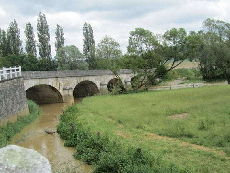 Pont sur la Meuse à Domrémy la Pucelle