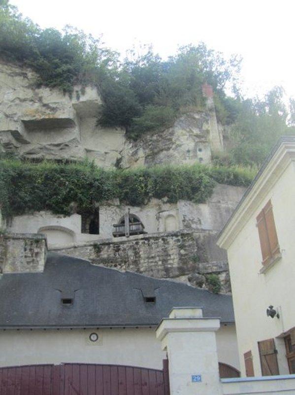 Maison Troglodyte à Montsoreau