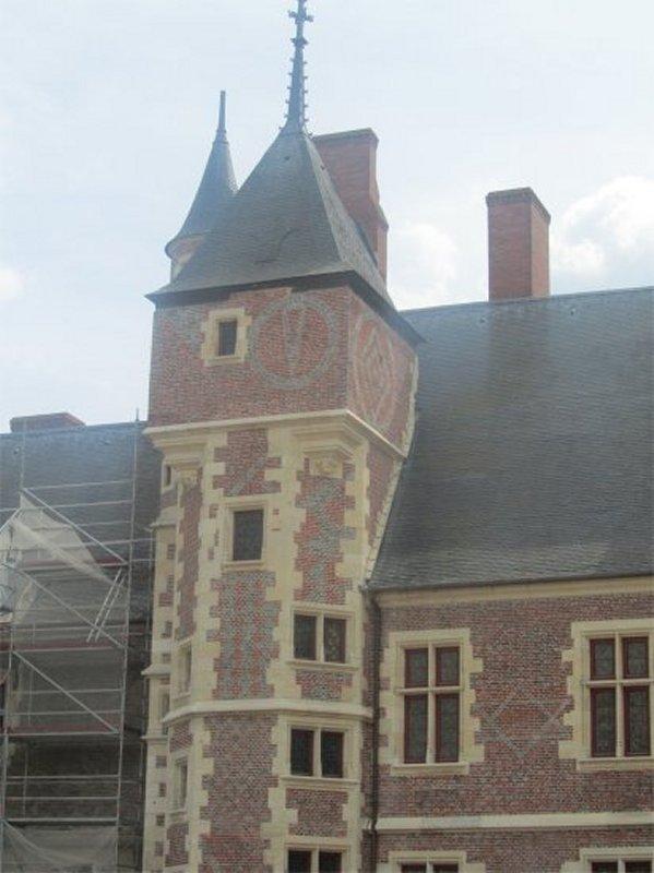 Détail du Château de Gien